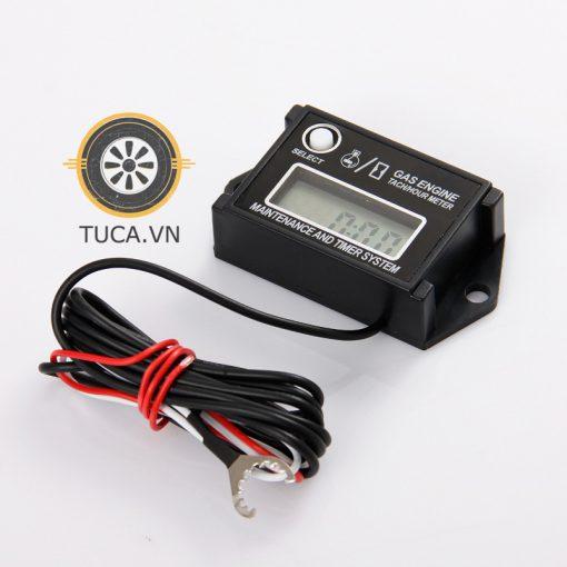 Đồng hồ tua máy cảm ứng rời Tach/Hour Meter